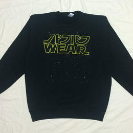 GALAXY WARS CREW NECK SWEAT (YELLOW)