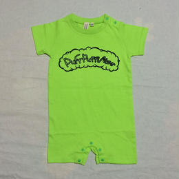 Puff Puff LONGSLEEVE Rompers(lIME GREEN)