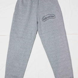 【裏起毛】Puff Puff  SWEAT PANTS (GRAY/BLACK)