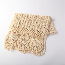 silk編みストール