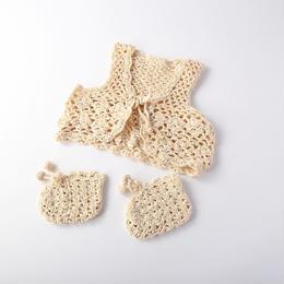 silk100% baby wear 2set