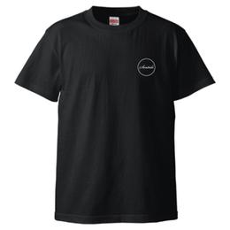 Seatide ロゴTシャツ-BK