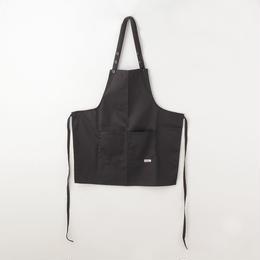 【40%OFF!お買得SALE】【イタリア製】胸付きショートエプロン ブラック エゴシェフ