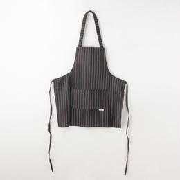 【イタリア製】胸付きショートエプロン イタリア(イタリア国旗ストライプ柄) エゴシェフ