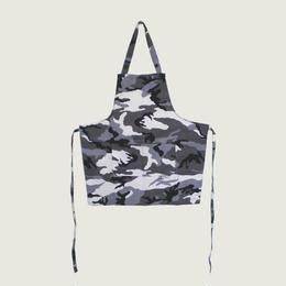 【イタリア製】胸付きショートエプロン アークティック(迷彩柄)エゴシェフ