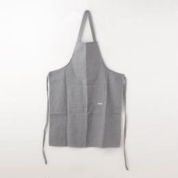 【イタリア製】胸付きシェフエプロン 千鳥格子 エゴシェフ