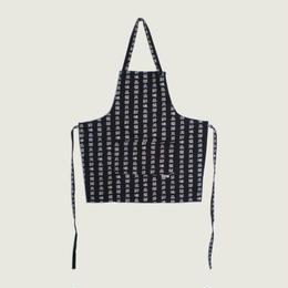 【イタリア製】胸付きショートエプロン オリエンタル エゴシェフ