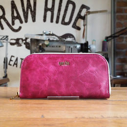 Berry pink Zip wallet