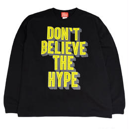 5656WORKINGS L/S T-SHIRTS (PEM) BLACK