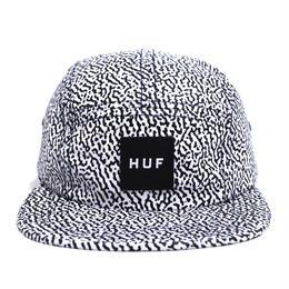 HUF 5PANEL CAP (MENPHIS BOX LOGO) WHITE