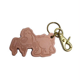 5656WORKINGS LEATHER KEY HOLDER (BEAN)