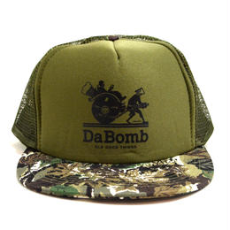 OldGoodThings 5PANEL MESH CAP (re:create LIMITED [DA BOMB]) OLIVE / CAMO