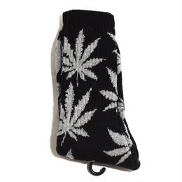 HUF ORIGINAL SOCKS (PLANT LIFE) BLACK/GREY
