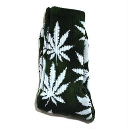 HUF ORIGINAL SOCKS (PLANT LIFE) GREEN