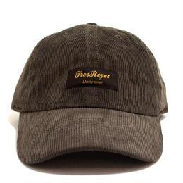 TRESREYES (ORIGINAL 6PANEL CAP (CORDUROY)) D.BROWN