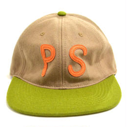 POLER (POLER ORIGINAL PS WOOL CAP) BEIGE / GREEN