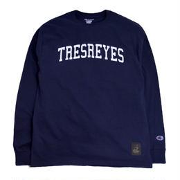 TRESREYES L/S T-SHIRTS (ROOTS MATES) NAVY