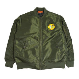 OldGoodThings ORIGINAL MA-1 JACKET (LIVING IN THE REAL WORLD) OLIVE