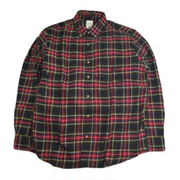 CHAPS BY RALPH LAUREN L/S SHIRTS (FALANNEL SHIRTS) GREEN/RED