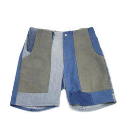 Denim short pants③