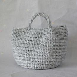 裂き編みバッグ マルシェタイプ 【Lサイズ】