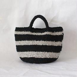 裂き編みバッグ マルシェタイプ 【Mサイズ】