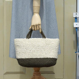 裂き編みバッグ(キャンバストート)