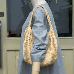 裂き編みバッグ(ショルダーバッグ)