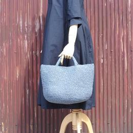 裂き編みバッグ マルシェ(LLサイズ)グレー