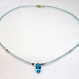 marine blue solitaire(マリンブルーソリテア)