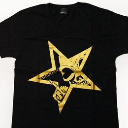 【Tシャツ】レドクロ STAR -ゴールド-