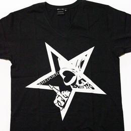 【Tシャツ】レドクロ STAR -ホワイト-