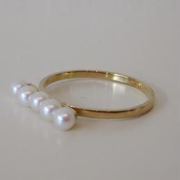 FULLOFGRACE pearl ring