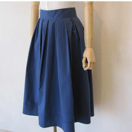 PARLMASEL  cotton like skirt  blue