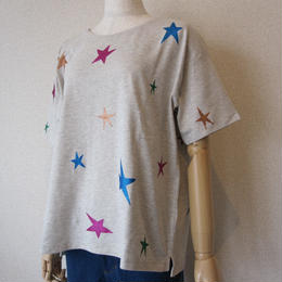 Maison Scotch star print Tshirt