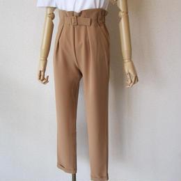 SONO highwaist belt pants beige