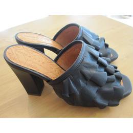 CHIEMIHARA frill sandal