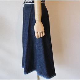Andcurtaincall denim skirt