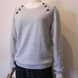 Maison scotch  button Knit   gray