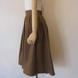 PARLMASEL  cotton like skirt  camel