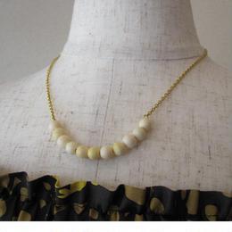 YOCHI coral necklace