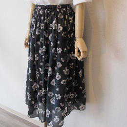 dolly sean flower skirt