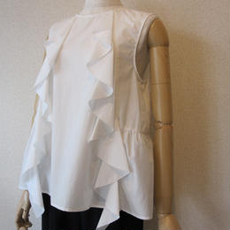 Andcurtaincall frill blouse