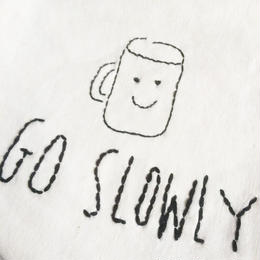 GO SLOWLY フラッグ☆