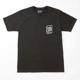RICH DOOR TEE「BLACK」