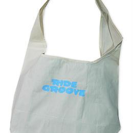 SHOULDER BAG / NATURAL×SKY BLUE