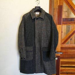 [MANUAL ALPHABET] TWEED SOUTIEN COLLAR COAT
