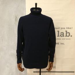 [FUJITO] Turtleneck Knit Sweater