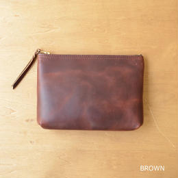 [ARTS&CRAFTS] CHROMEXCEL ACC / ZIP-TOP POUCH