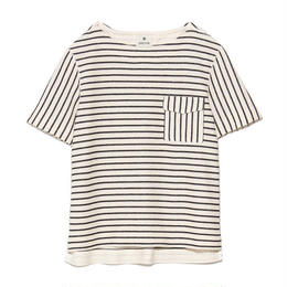 [snow peak] C/L Striped Pullover
